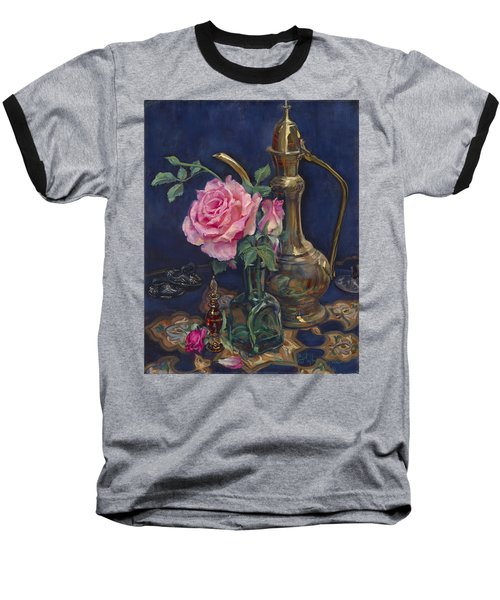 Turkish Rose Baseball T-Shirt