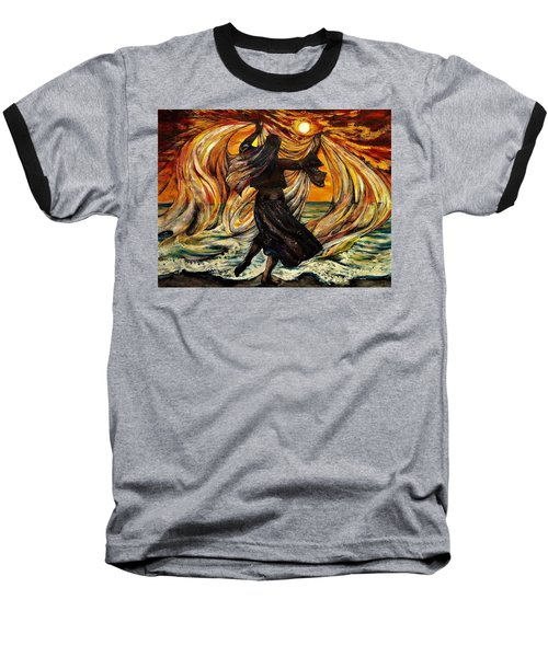 Turkish Sunset Baseball T-Shirt