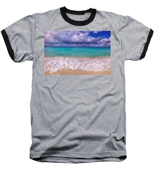 Turks And Caicos Beach Baseball T-Shirt