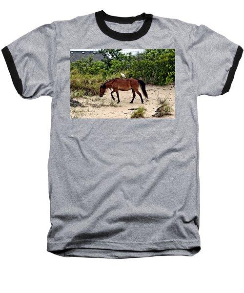 Turn Right At The Next Bush Baseball T-Shirt