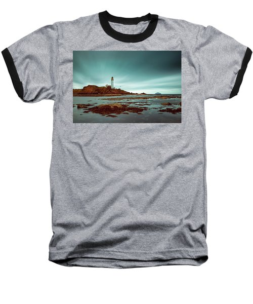 Turnberry Lighthouse Baseball T-Shirt