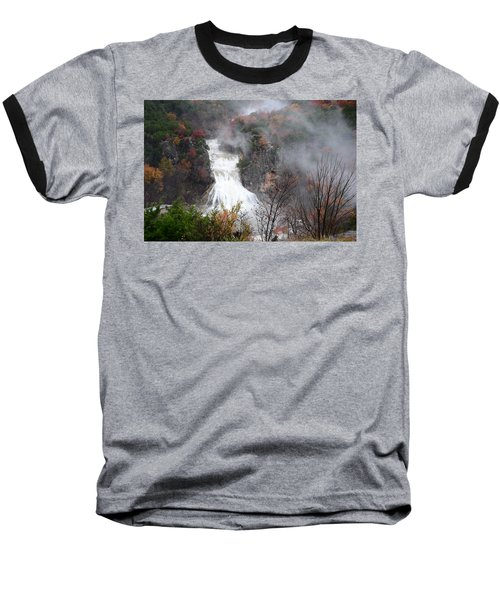 Turner Falls And Steam Baseball T-Shirt