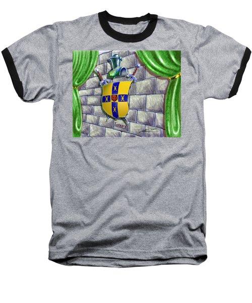 Turner Family Crest Baseball T-Shirt