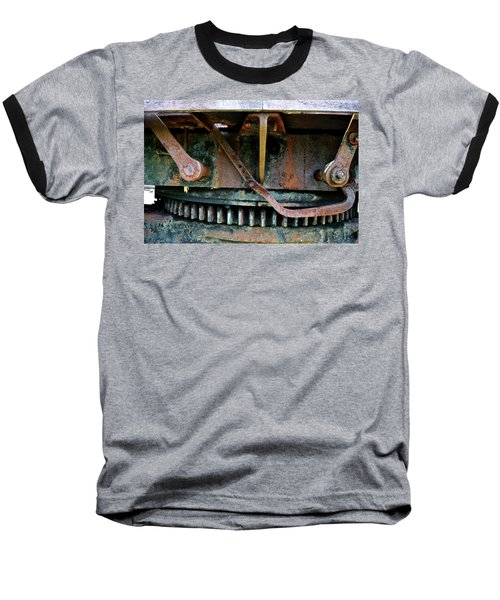 Turntable Gear Baseball T-Shirt