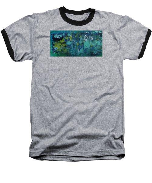 Turquoise Blue Baseball T-Shirt