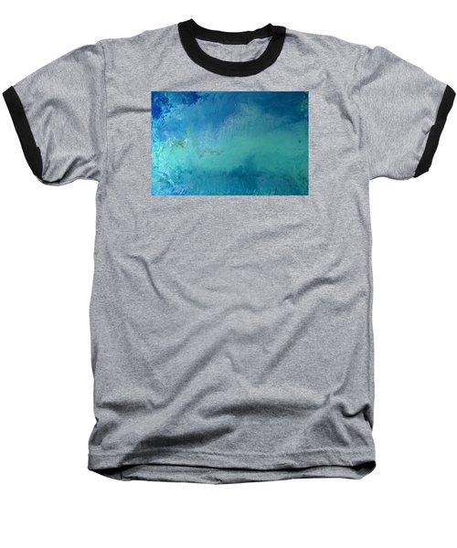 Turquoise Ocean Baseball T-Shirt