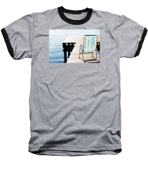 Turquoise Paradise Baseball T-Shirt