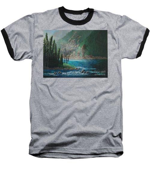 Turquoise River Baseball T-Shirt