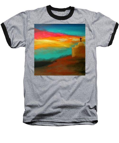 Turquoise Trail Sunset Baseball T-Shirt