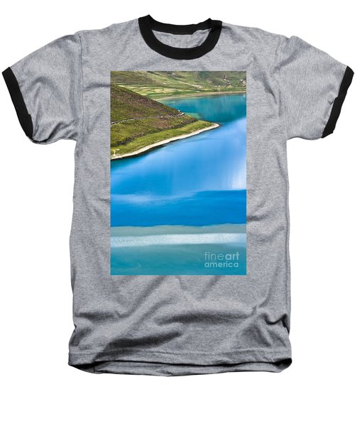 Turquoise Water Baseball T-Shirt