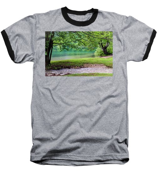Turquoise Zen - Plitvice Lakes National Park, Croatia Baseball T-Shirt