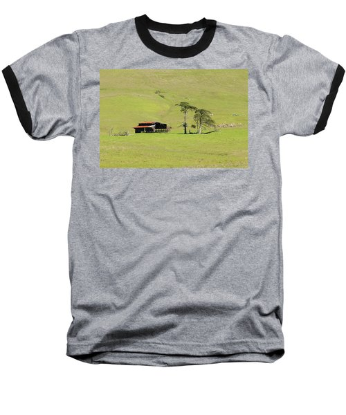 Baseball T-Shirt featuring the photograph Turri Road - San Luis Obispo Ca by Art Block Collections