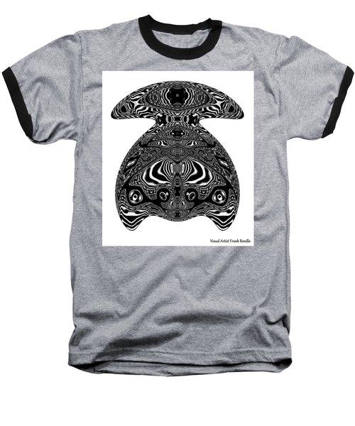 Turtle Art Baseball T-Shirt