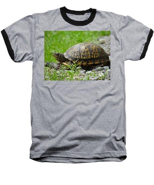 Turtle Crossing Baseball T-Shirt