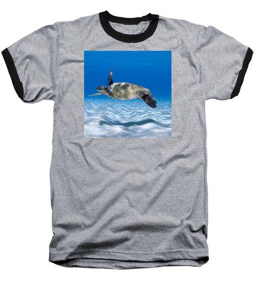 Turtle Flight -  Part 2 Of 3  Baseball T-Shirt