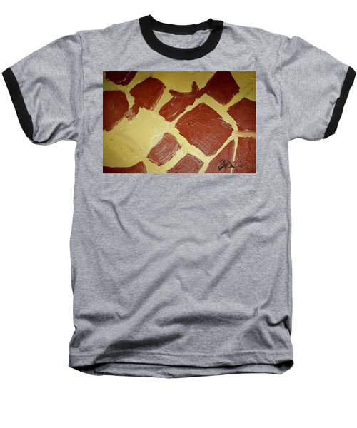 Baseball T-Shirt featuring the painting Turtle Lamp by Shea Holliman