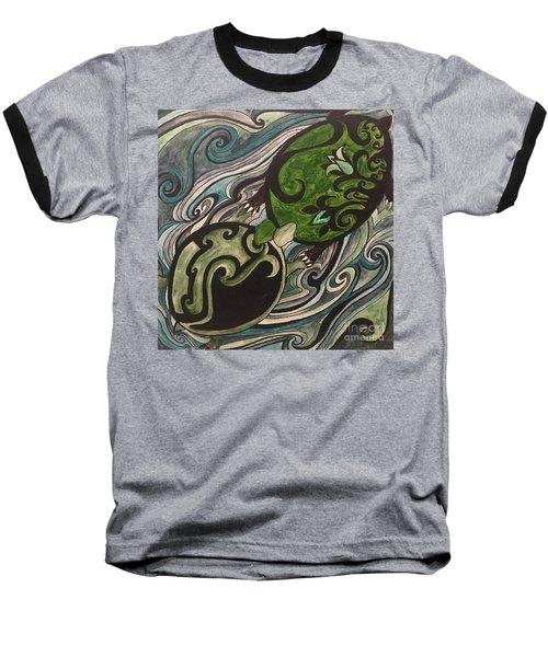 Turtle Love Baseball T-Shirt