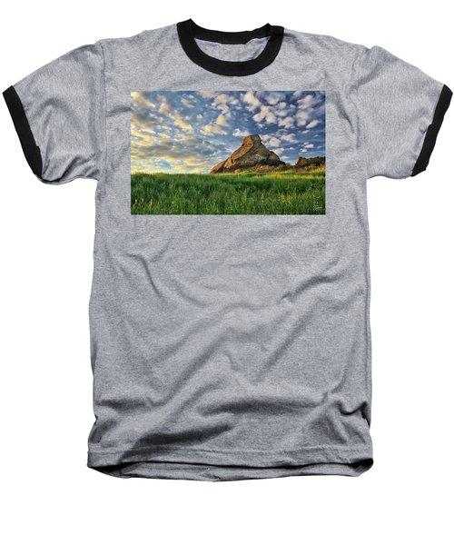 Turtle Rock At Sunset 2 Baseball T-Shirt