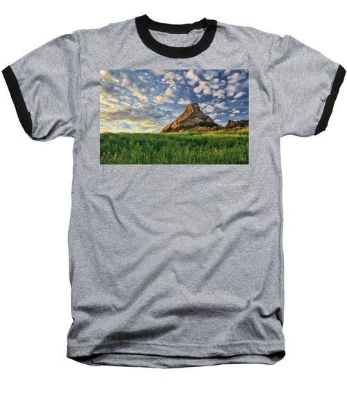 Turtle Rock At Sunset 2 Baseball T-Shirt
