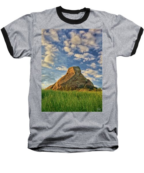 Turtle Rock Baseball T-Shirt by Endre Balogh