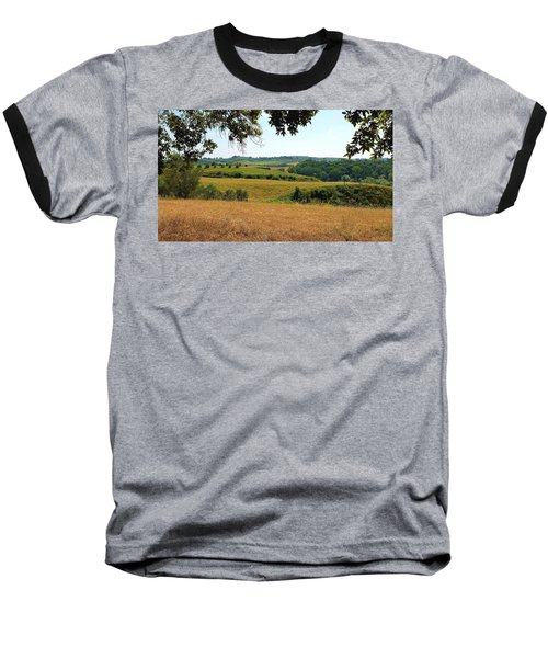 Baseball T-Shirt featuring the photograph Tuscan Country by Valentino Visentini