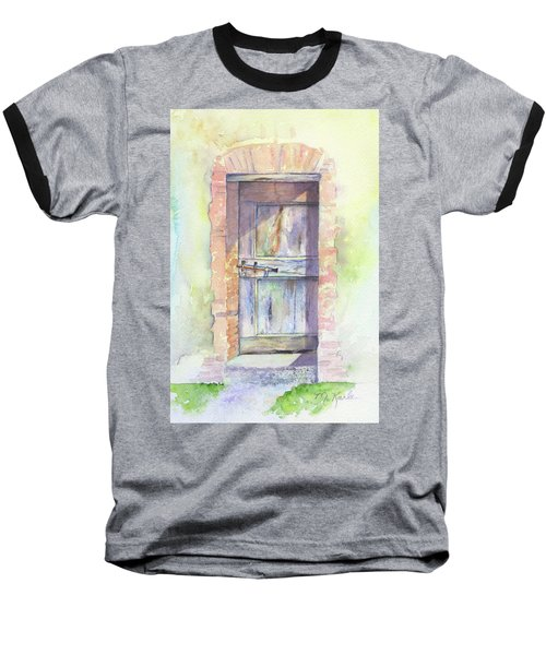 Tuscan Doorway Baseball T-Shirt