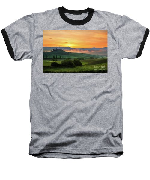 Tuscan Dream II Baseball T-Shirt by Yuri Santin
