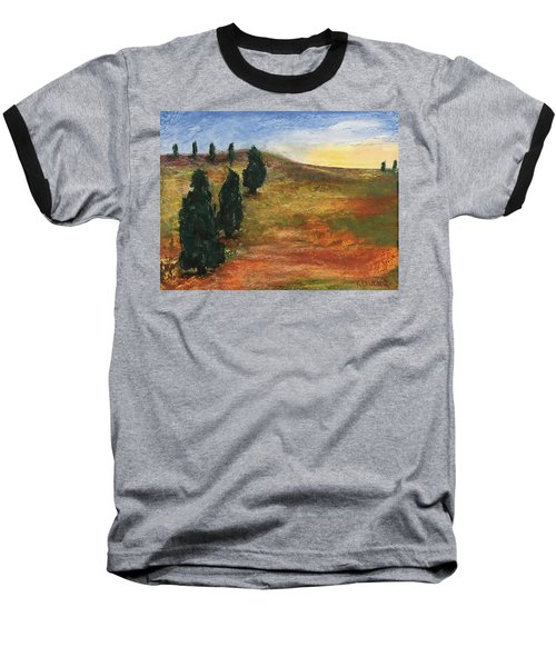 Tuscan Lights Baseball T-Shirt