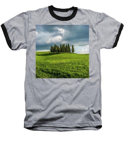 Tuscan Wonderland - Val D Orcia Baseball T-Shirt