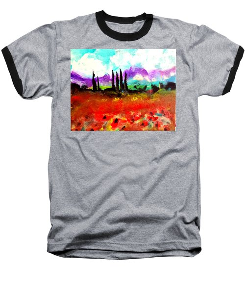 Tuscany Fields Baseball T-Shirt