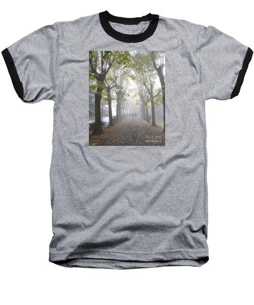 Tuscany Love Baseball T-Shirt by Rebecca Margraf