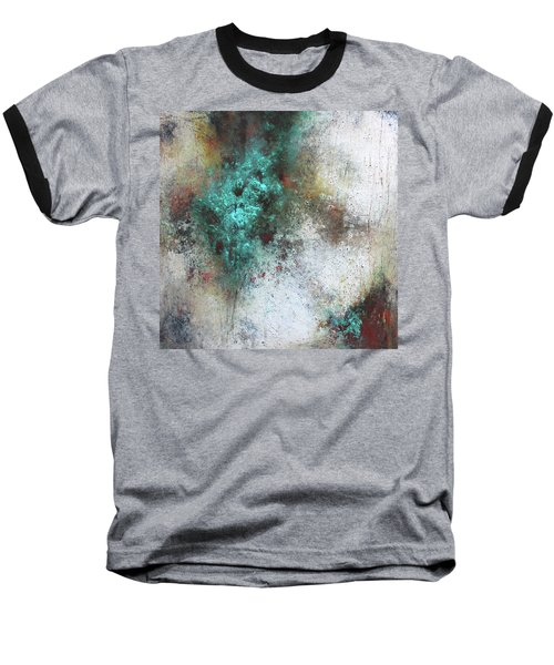Tuscany Oil And Cold Wax Baseball T-Shirt
