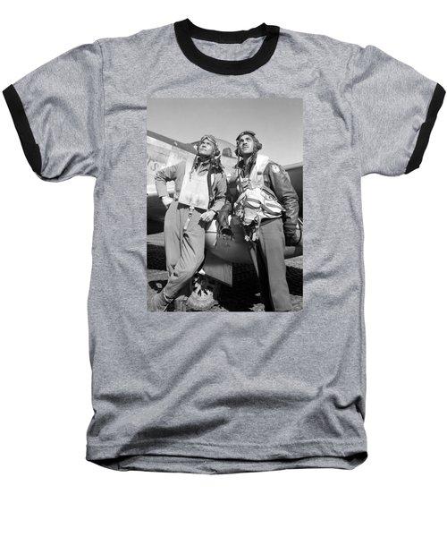 Tuskegee Airmen Baseball T-Shirt