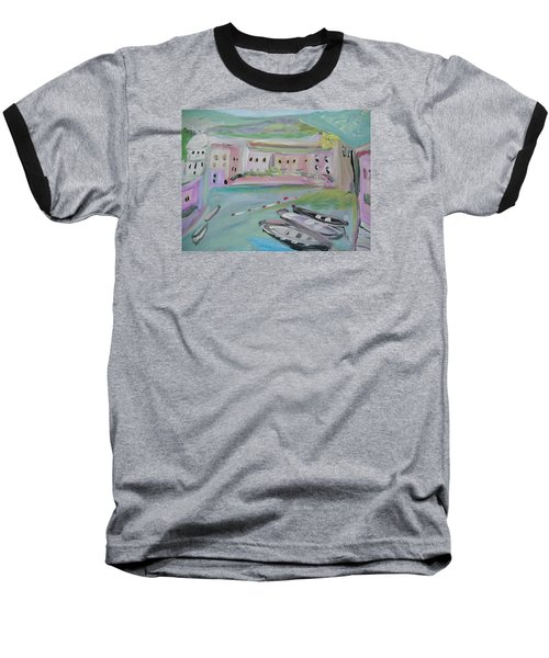 Baseball T-Shirt featuring the painting Tutti Frutti by Judith Desrosiers