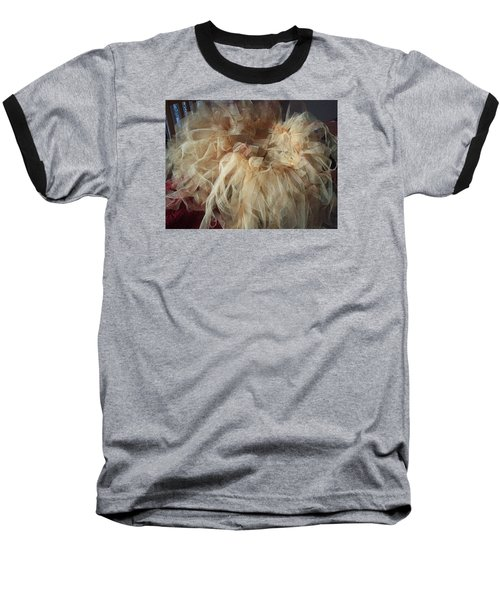 Baseball T-Shirt featuring the painting Tutu by Judith Desrosiers