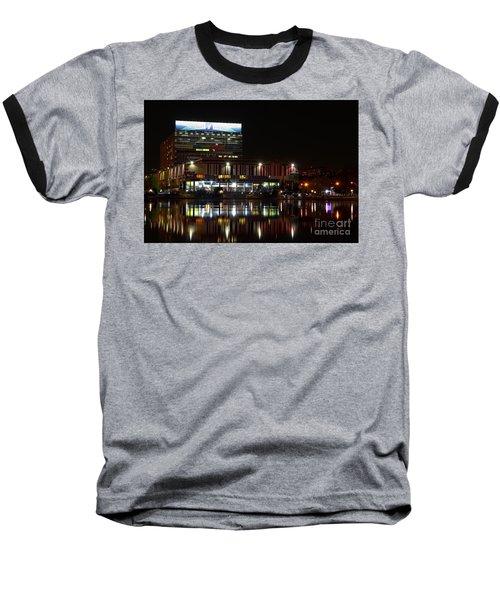 Tv Center Baseball T-Shirt