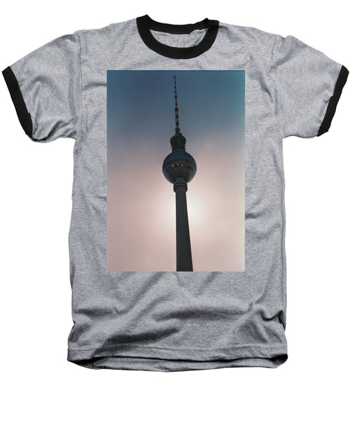 Tv Tower Berlin Baseball T-Shirt