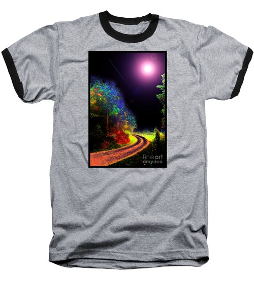 Twelve Dimensions Of Harmonic Delight Baseball T-Shirt by Susanne Still