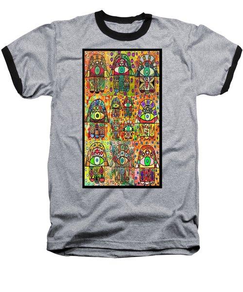Twelve Hamsas Baseball T-Shirt