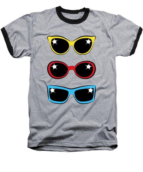 Twentieth Century Sunglasses Baseball T-Shirt
