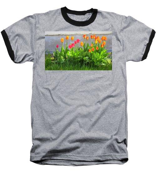 Twenty-five Tulips Baseball T-Shirt