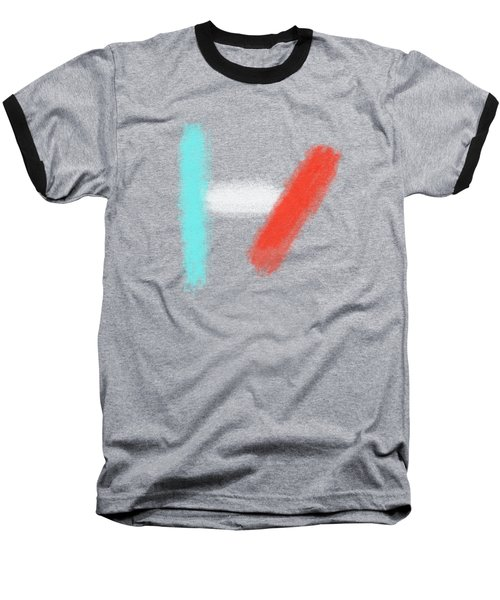 Twenty One Pilots Black Abstract Baseball T-Shirt