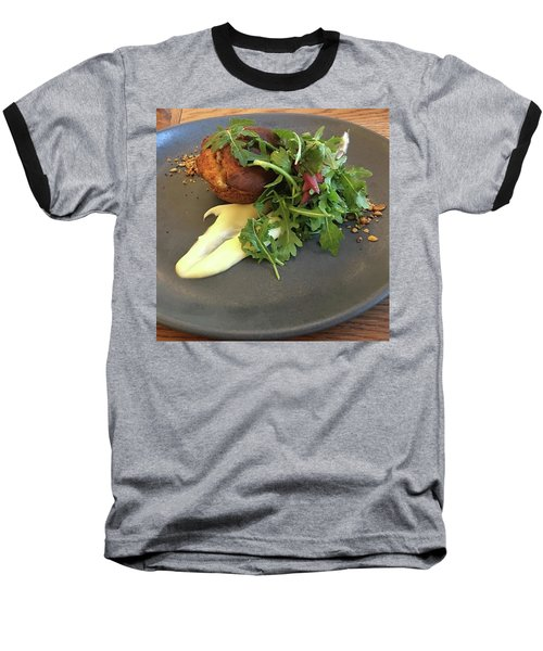 Twice Baked Binham Blue Cheese & Walnut Baseball T-Shirt