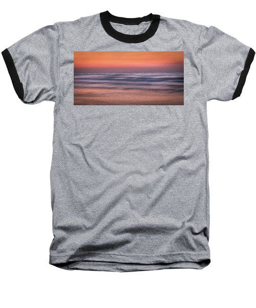 Twilight Abstract Baseball T-Shirt