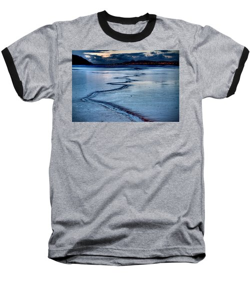 Twilight, Conwy Estuary Baseball T-Shirt