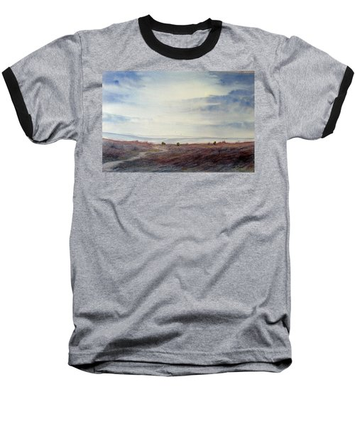 Twilight Settles On The Moors Baseball T-Shirt