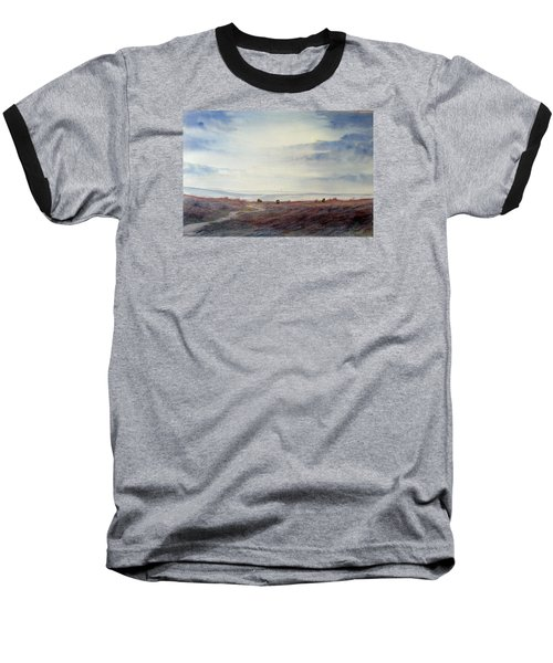 Twilight Settles On The Moors Baseball T-Shirt