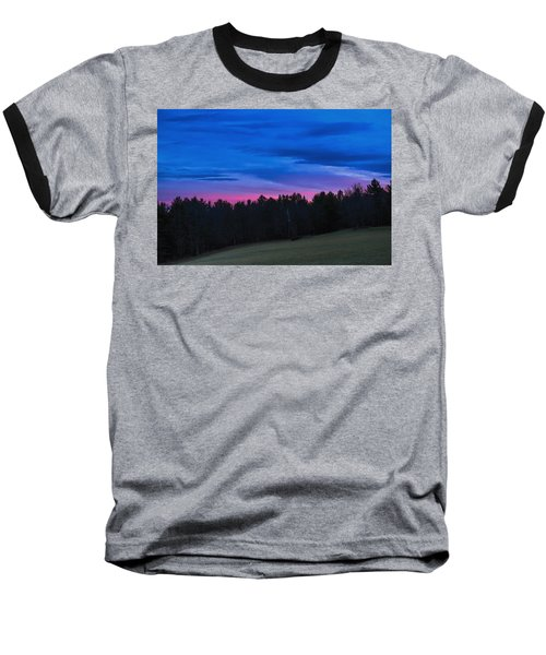 Twilight Field Baseball T-Shirt
