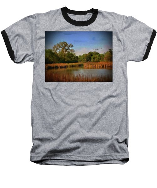 Twilight Flight Baseball T-Shirt