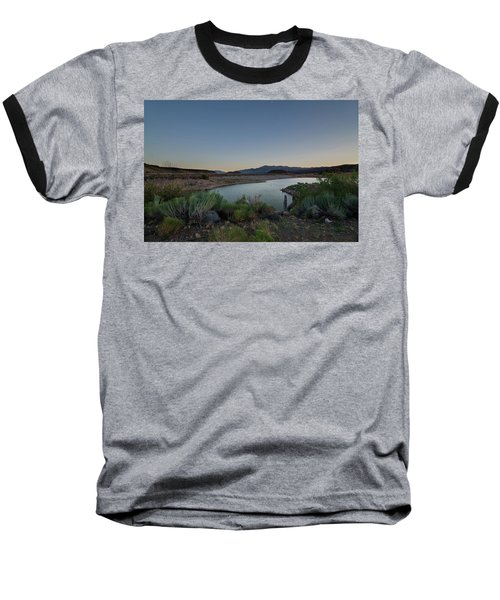 Baseball T-Shirt featuring the photograph Twilight In The Desert by Margaret Pitcher